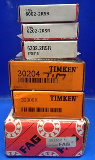 A range of Bearings and Housings are in Stock